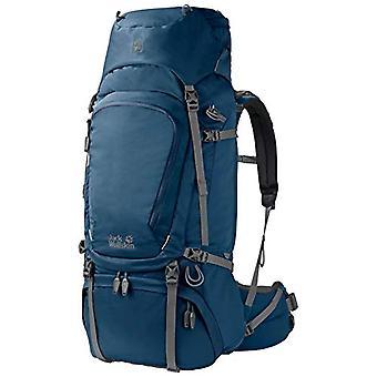 Jack Wolfskin Denali 65 bags Dos Trekking Unisex-Adult Blue Backpack (Poseidon Blue) One Size