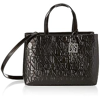 أرماني تبادل 942646CC794 حقيبة المرأة السوداء (أسود (أسود - أسود 00020)) 16x35x24 سم (B x H x T)