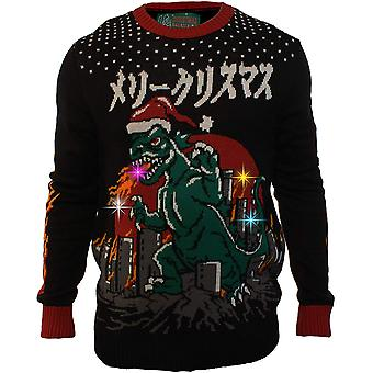 Ugly Christmas Sweater Company Men's Assorted Light-Up Xmas Crew Neck Sweater...