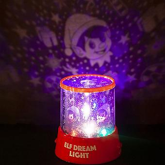 Christmas Shop Elf Dream Gazer Nightlight