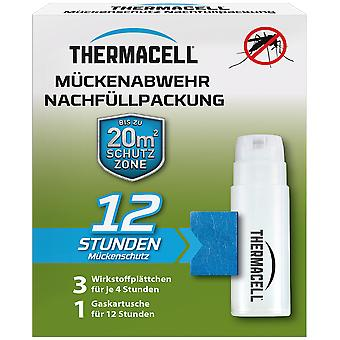SBM Thermacell mosquito refill pack for 12 hours, 1 cartridge and 3 active ingredient plates