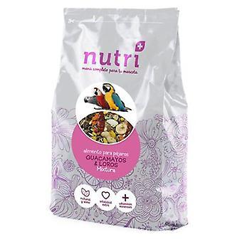 NutriPlus iso Mixtura ara papukaija ja conFruta 3,3 Kg n.. (lintujen, lintujen ruokaa)