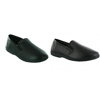 Mirak Visa Mens Slip-On Slipper / Classic Mens Slippers