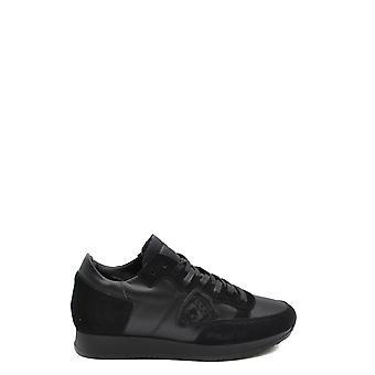 Philippe Modelo Ezbc019050 Mujer's Zapatillas de ante negro