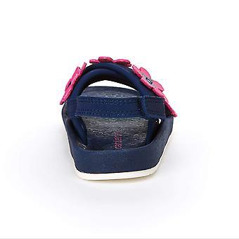 Carter ' s meisjes ' Felicia bloem verfraaid sandaal met verstelbare riem, Navy...