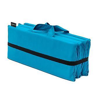 Turquoise Reef Folding Lounger Mat Waterbestendig Kussen Tuin Outdoor Picknick