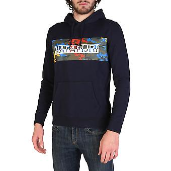 Napapijri Original Men All Year Sweatshirt - Blue Color 34252