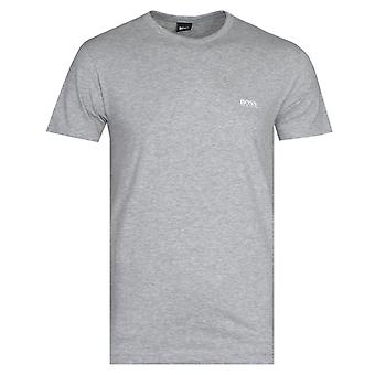 BOSS Athleisure Tee Grey Marl Short Sleeve T-Shirt