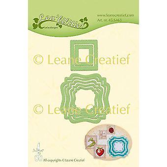 LeCrea - Lea'bilitie Frames swirl&postage stamps cut emboss. die 45.6463 (01-20)