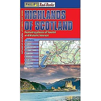Philips röda böcker högländerna i Skottland
