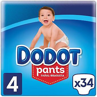 Dodot Pants Diaper Size 4 with 34 Units (Baby & Toddler , Diapering , Diapers)