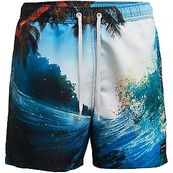 Bjorn Borg Stunning Ocean Print Swim Shorts, Ocean Navy
