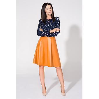 Mustard tessita skirts