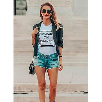 Swear on my chanel - carrie bradshaw graphic tshirt