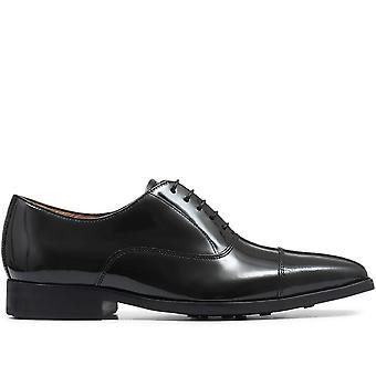 Jones Bootmaker Mens Gepolijste Lederen Oxford Schoen