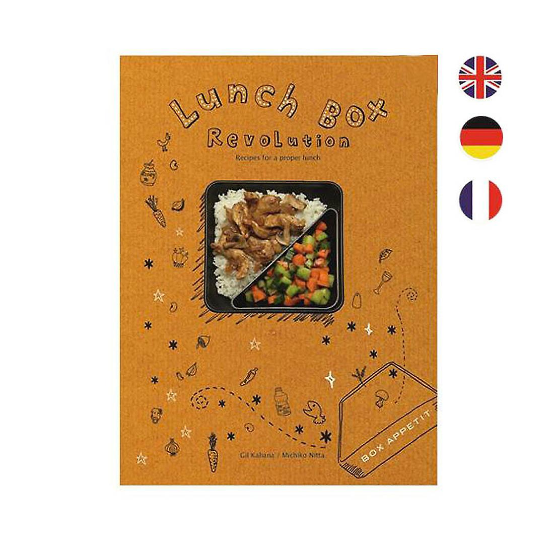 French Lunchbox Box Appetit Cook Book by Black & Blum