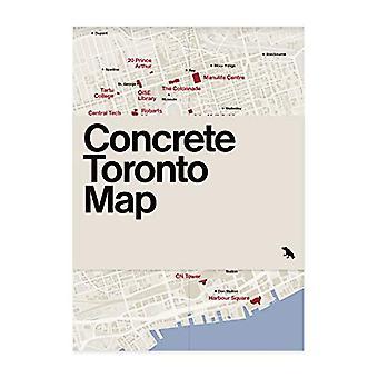 Concrete Toronto Map by Graeme Stewart - 9781912018642 Book