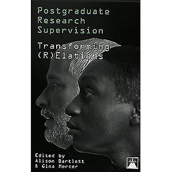 Postdoctoraal onderzoek toezicht: Transformeren (R) elations (uitbarstingen: nieuwe feminisme over de Disciplines)