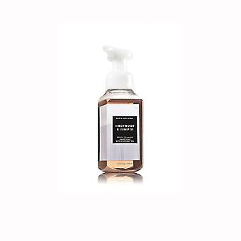Bath & Body Works Birchwood & Juniper Gentle Foaming Hand Soap (Lot of 2)
