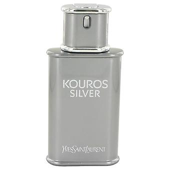 Kouros Silver Eau De Toilette Spray (Tester) By Yves Saint Laurent 3.4 oz Eau De Toilette Spray