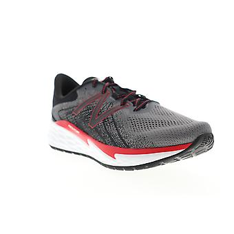 New Balance Fresh Foam Evare Mens Gray Extra Wide Athletic Running Shoes