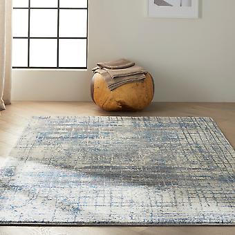 Calvin Klein Torrent Designer Abstract Rugs Ck983 Ivory Grey Blue