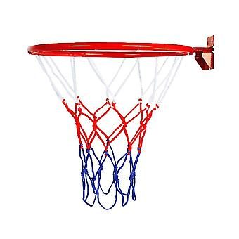 Wall Mounted Home Metal Basketball Rim Hoop Net Ring Full Regulation Size
