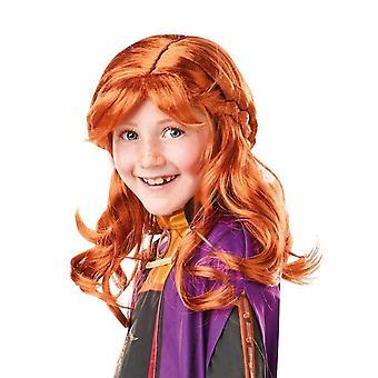 Kids Anna Wig - Frozen