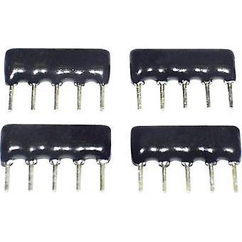 TANCAP SIP-A09-472G Cermet resistor 4.7 kΩ THT SIP 9 0.125 W 1 pc(s)