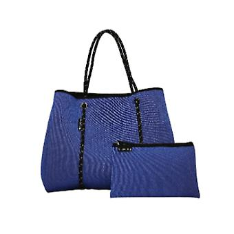 WILLOW BAY AU DAYDREAMER Neopreen Tote Bag - BLUE DENIM