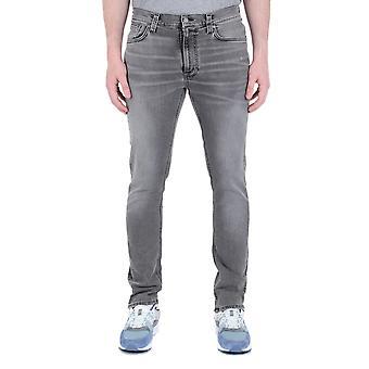 Nudie Jeans Co Lean Dean Vintage Grey Denim Jeans