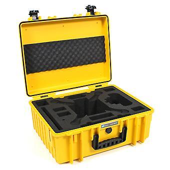 B&W Copter Case Type 6000 per DJI Phantom Multicopter, Giallo per DJI Phantom 3