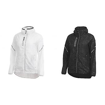 Elevate Womens/Ladies Signal Reflective Packable Jacket