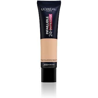 L'Oréal Paris New Infallible Matte Foundation 30ml - 200 Golden Sand