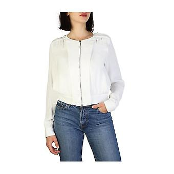 Armani Jeans - Clothing - Classic Jacket - 3Y5B54_5NYFZ_1148 - Women - White - 44