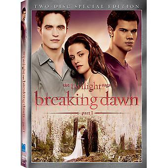 Twilight Saga: Breaking Dawn Pt. 1 [DVD] USA importerer
