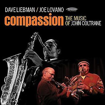 Liebman, Dave / Lovano, Joe - Compassion: The Music of John Coltrane [CD] USA import