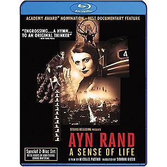 Ayn Rand: Sense of Life [BLU-RAY] USA import