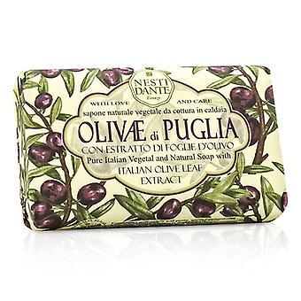 Extracto de Nesti Dante jabón Natural con hoja de olivo italiano - Olivae Di Puglia 150g/3.5 oz
