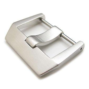 Strapcode katsella solki 24mm tai 26mm harjattu 316l ruostumaton teräs ruuvi tyyppi 6mm kielen solki bell & ross br01 br03 ranneke
