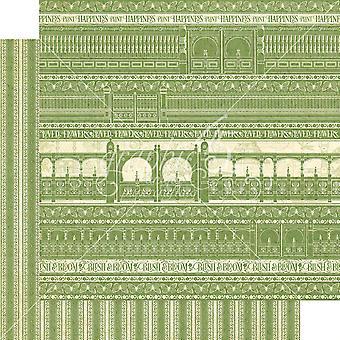 Paquete de papel Gráfico 45 Garden Gate 12x12 pulgadas
