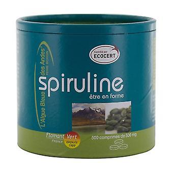 Spirulina 500 tablets of 500mg