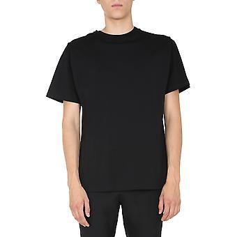 Moschino 071452400555 Männer's schwarze Baumwolle T-shirt