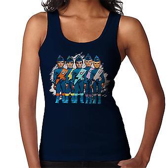 Thunderbirds International Rescue team kvinder ' s vest