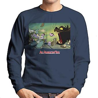 An American Tail Mott Street Maulers Homme-apos;s Sweatshirt
