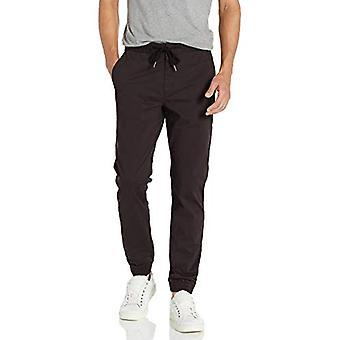 "Brand - Goodthreads Men's Athletic-Fit Jogger Pant, Black Medium/28"" Inseam"