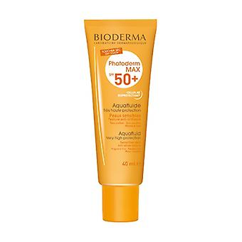 Photoderm Max SPF 50+ Aquafluid Colorless Very High Protection 40 ml of cream