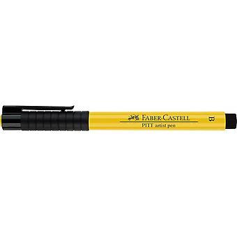 فابر كاستل الحبر الهندي الفنان القلم فرشاة 107 الكادميوم الأصفر
