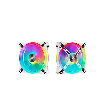 Corsair Ql120 Rgb Blanco Icue 120Mm Rgb Led Pwm Fan 26Dba