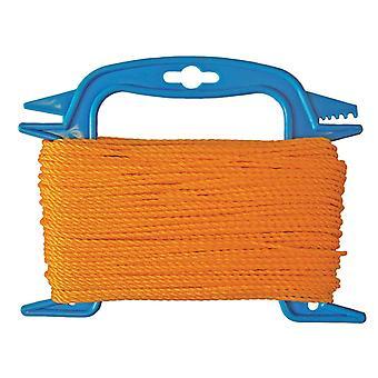 Faithfull 306 Polyethylene Ranging Line 30m (100ft) Orange FAI306